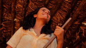 A atriz Manuela Markes foi descoberta na comunidade e brilhou como protagonista.